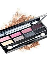 8 Palette de Fard à Paupières Sec Fard à paupières palette Crayons NormalMaquillage Quotidien / Maquillage d'Halloween / Maquillage de