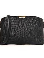 Women PU Sling Bag Shoulder Bag / Satchel / Clutch / Evening Bag / Coin Purse-White / Blue / Red / Black