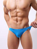 Masculino Cuecas Masculino Seda Sintética