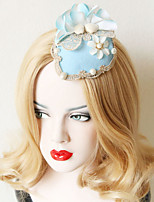 The Fashionable  Shell Shape Flower Bowler Hat