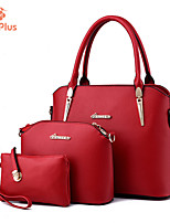 M.Plus® Women's Fashion Casual PU Leather Messenger Shoulder Bag/Tote