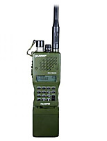 prc-152 tres anti impermeable a prueba de golpes de acero dustproof.stainless 6-pin conector 4800mah walkie talkie