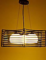 MAX 60W Rétro Style mini Peintures Métal Lampe suspendueSalle de séjour / Chambre à coucher / Salle à manger / Cuisine / Bureau/Bureau de