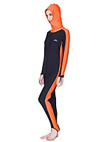 Ultraviolet Resinstant Diving Suits&Dive Skins for Women Chinlon Long Sleeve