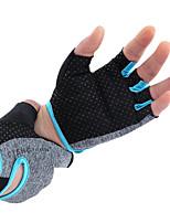Nylon Halbfingerhandschuhe für Bodybuilding