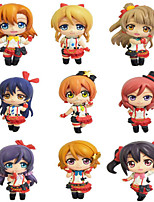 Love Live Honoka Kōsaka  Anime Action Figures Model Toys Doll Toy 9pcs 6cm