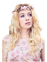 boho hair accessories wedding headpiece, flower crown, bridal flower headband, wedding headband, bridal headpiece