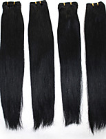 Brazilian remy Human Hair Extensions #1 #1B #2 #4 #8 Straight Human Hair Weave 100g/bundle 12