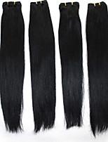 remy brasileños extensiones de cabello humano # 1 # 1b # 2 # 4 # 8 recta del pelo humano de la armadura 100g / bundle 12