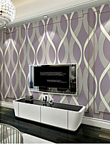 PALUTON Art Deco Wallpaper Contemporary Wall Covering,Non-woven Paper 3D Three-dimensional Relief