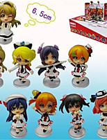 Amor en Vivo Honoka Kōsaka PVC One Size Las figuras de acción del anime Juegos de construcción muñeca de juguete