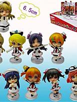 Love Live Honoka Kōsaka  Anime Action Figures Model Toys Doll Toy 10pcs 6cm