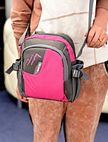 Fashion Unisex Polyester / Nylon Shopper Shoulder Bag / Tote / Travel Bag-Multi-color