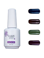ILuve Gel Nail Polish Set - Pack Of 4 - Long Lasting 3 Weeks Soak Off UV Led Gel Varnish – For Nail Art #4032