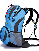 Backpack Camping & Hiking Waterproof / Rain-Proof  / Multifunctional 35 L Yellow / Green / Gray / Black / Blue / Orange