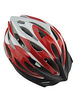 Casque Vélo(Vert / Rouge / Gris / Noir / Bleu,PVC)-deHomme-Cyclisme / Cyclisme en Montagne / Cyclisme sur Route Sports 24 AérationM: