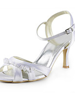 Women's Wedding Shoes Heels Sandals Wedding / Party & Evening / Dress White