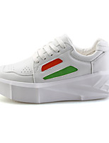 Men's Shoes Casual Leather Fashion Sneakers Black / White