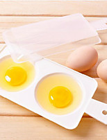 Creative Household Microwave Oven Steamed Egg Apparatus (2 eggs) keep Eggs Moisture Taste Fresh and Tender