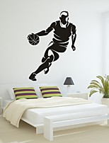 AYA™ DIY Wall Stickers Wall Decals, Basketball PVC Wall Stickers