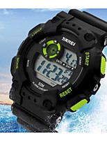 Sports Watch Men's / Ladies' LCD / Calendar / Chronograph / Water Resistant / Dual Time Zones / Sport Watch Digital Digital