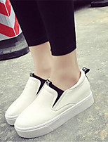 Women's Shoes  Platform Creepers Heels Office & Career / Casual Black / White