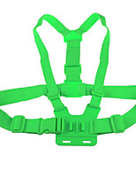 Elastic Adjustable Chest Strap Belt Mount for GoPro Hero 1 Hero 2 Hero 3 Hero 3+ Sports Camera Green