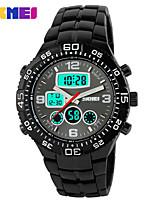 Sports Watch Men's / Unisex LCD / Calendar / Chronograph / Water Resistant / Dual Time Zones / Sport Watch Digital Digital