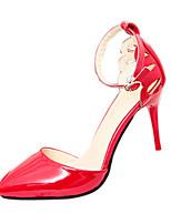 Zapatos de mujer-Tacón Stiletto-Tacones-Tacones-Boda / Fiesta y Noche-Materiales Personalizados-Negro / Rojo / Blanco