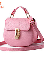 M.Plus® Women's Fashion Korean PU Leather Messenger Shoulder Bag/Tote