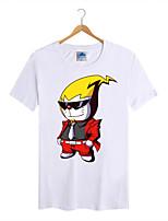 Men's Cotton Lycra Doraemon T-shirt 1Pc