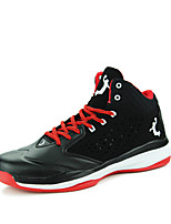 Men's Shoes Outdoor / Athletic / Casual Patent Leather Fashion Sneakers / Athletic Shoes Black / Yellow / White / Gray