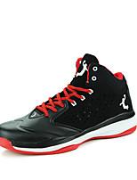 Zapatos de Hombre-Sneakers a la Moda / Zapatos de Deporte-Exterior / Casual / Deporte-Cuero Patentado-Negro / Amarillo / Blanco / Gris