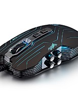 Luom g5 3200dpi conduit optique vibration usb 9d souris nouveauté filaire illuminée de la souris de jeu