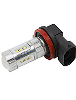 Brabus  Bugatti 12V H11 15W LED Fog Lamp Car High Beam Lamp Car Low Beam Lamp with CREE LED White Color