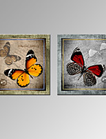 Animali / Fantasia / Romantico / Pop art Print Canvas Due pannelli Pronto da appendere,Quadrato