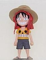 One Piece Otros 10CM Las figuras de acción del anime Juegos de construcción muñeca de juguete