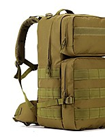 50-55L Military Style Outdoor Sports Travel Bag-Backpack Coyote