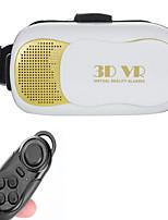 caja vr versión 3.0 gafas de realidad virtual 3D + controlador de bluetooth