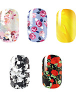 -Finger-3D Nails Nagelaufkleber-Andere-5PCSStück -14.5*7.5cm