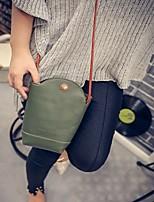 Fashion Women PU / Polyester Solid Barrel Shoulder Bag / Tote-Multi-color