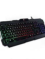 ademhaling lichten usb gaming toetsenbord met pad 2 stuks een set
