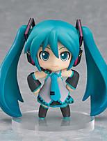Vocaloid Hatsune Miku PVC One Size Las figuras de acción del anime Juegos de construcción muñeca de juguete