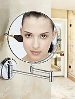 Foldable Contemporary Space Aluminum Anodizing Wall Mounted Mirror