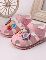 Baby Shoes Dress / Casual Leather Sandals Pink / Red / White