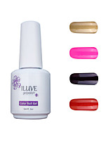 ILuve Gel Nail Polish Set - Pack Of 4 - Long Lasting 3 Weeks Soak Off UV Led Gel Varnish – For Nail Art #4034