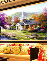 DIY 5D Diamond Mosaic Beautiful Lake House Scenery Full Diamond Painting Cross Stitch Kits Embroidery Home Decor