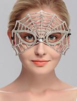 Capacete Máscaras Casamento / Ocasião Especial / Casual / Escritório e Carreira / Ao ar Livre Strass MulheresCasamento / Ocasião Especial