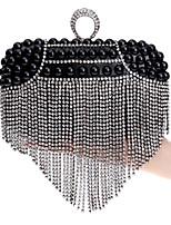 Women Metal Baguette Evening Bag-Gold / Silver / Black