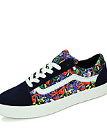 Men's Shoes Casual Fabric Fashion Sneakers Black / Blue / Gray